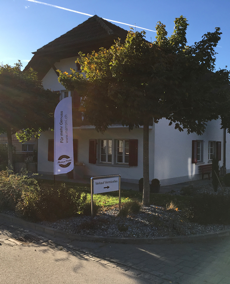 Premium Marron-Purée für bestes Vermicelles von Rud.Moser AG Siselen